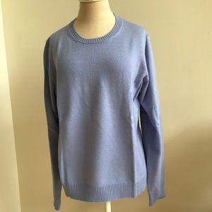 Banana Republic cornflower merino wool sweater XL
